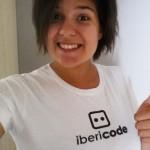 Ines in ibericode shirt