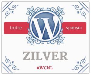 Silver Sponsor for WordCamp Netherlands 2015