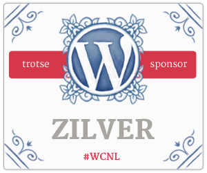 Silver Sponsor for WordCamp Netherlands 2015